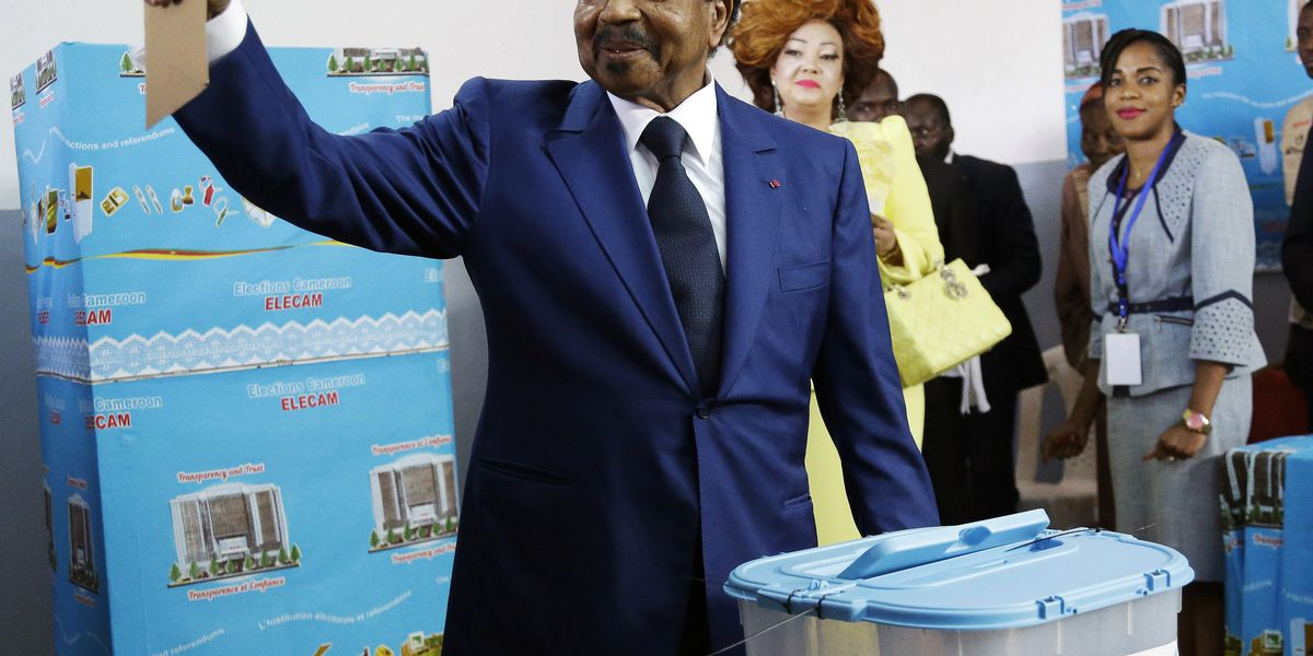 Cameroon's Biya easily wins 7th term; low Anglophone turnout