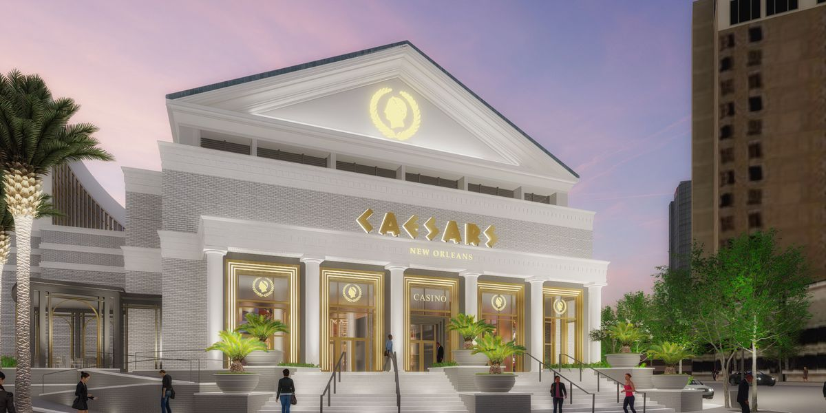 $325 million renovations coming as Harrah's New Orleans transforms into Caesar's New Orleans