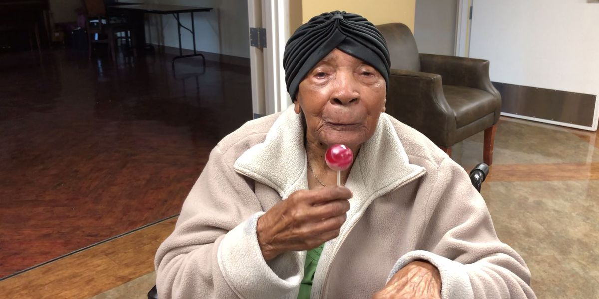 Gonzales woman 'Lollipop Lucy' turns 102-years-old
