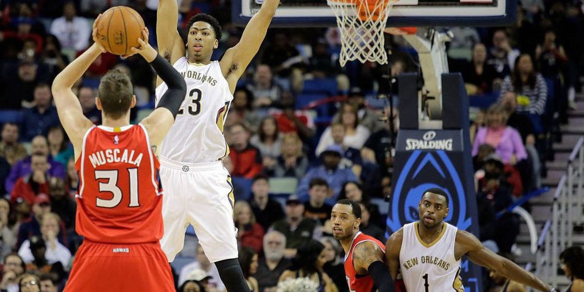 Pelicans' Davis showing no signs of letting up