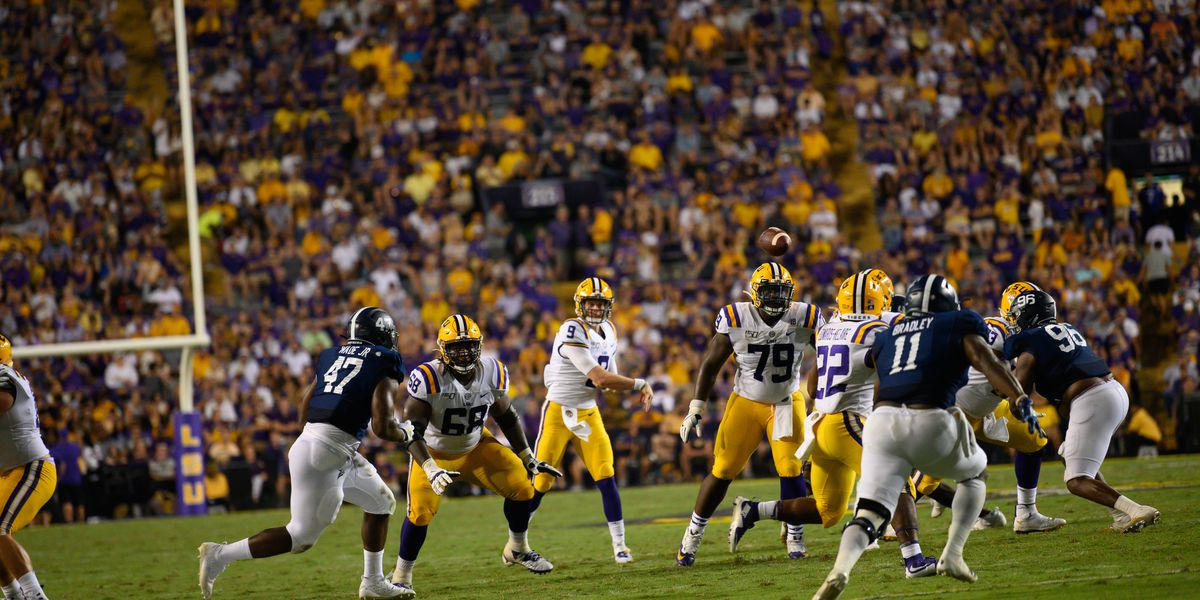 After Further Review: Five takes from tape on LSU's offense vs. Georgia Southern