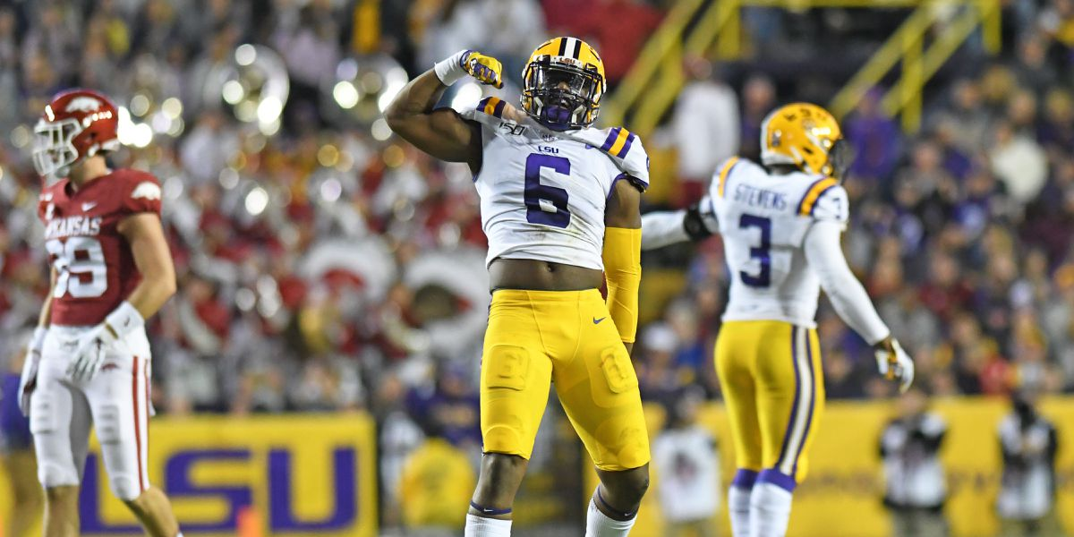 LSU's Jacob Phillips declares for NFL Draft