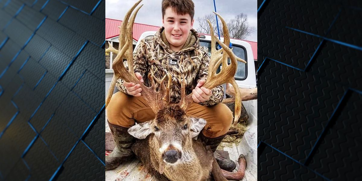 13-year-old kills 27-point buck in TN