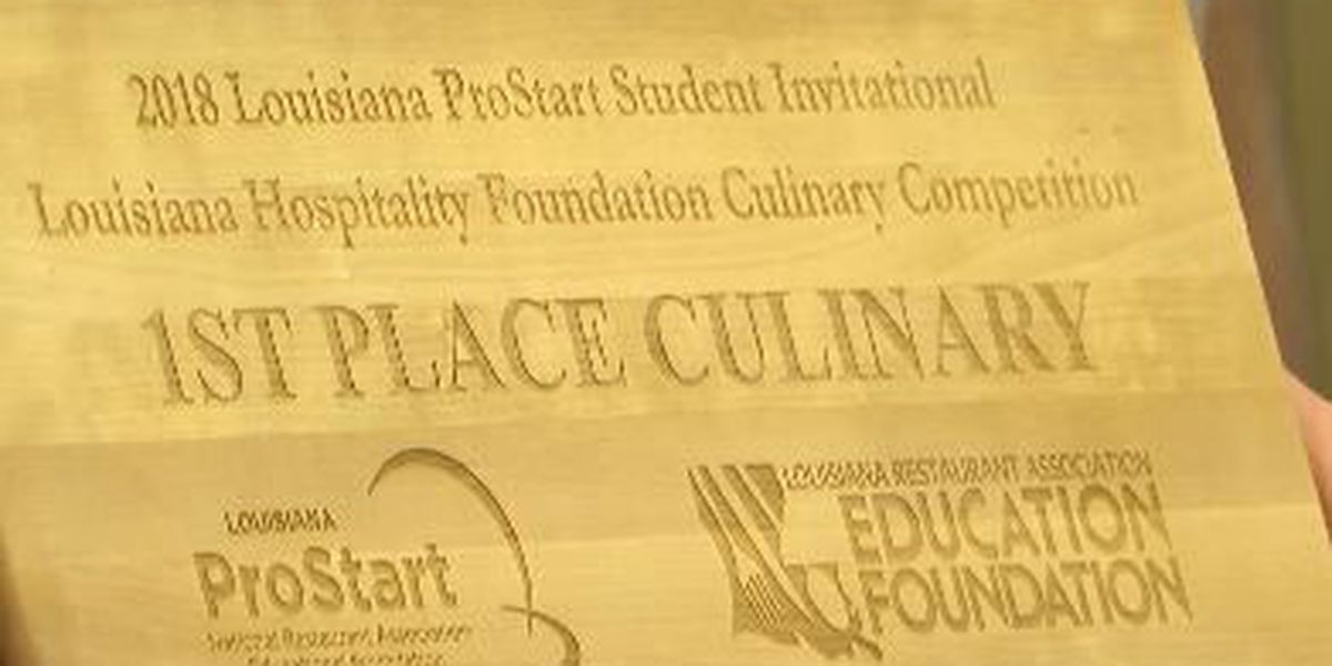 Local high school students advance to national culinary competition