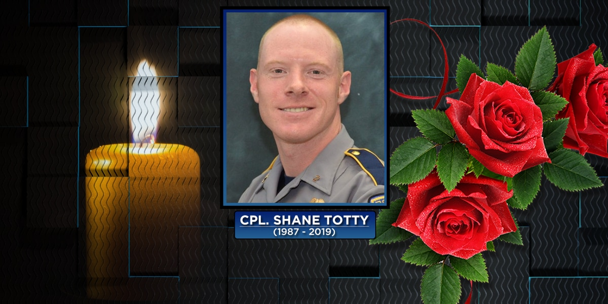 Cpl. Totty laid to rest, remembered by law enforcement brothers