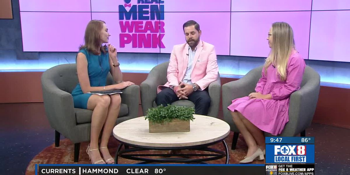 Real Men Wear Pink - American Cancer Society