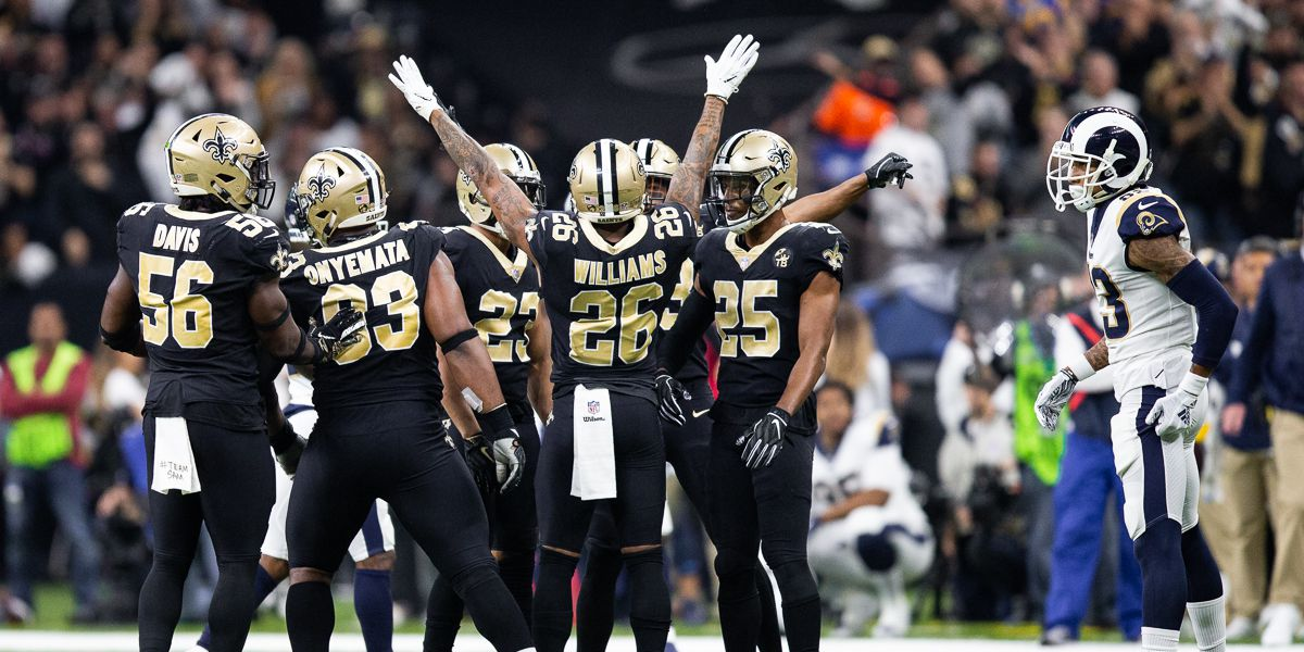 Game Updates: Rams pull closer to Saints before half, 13-10