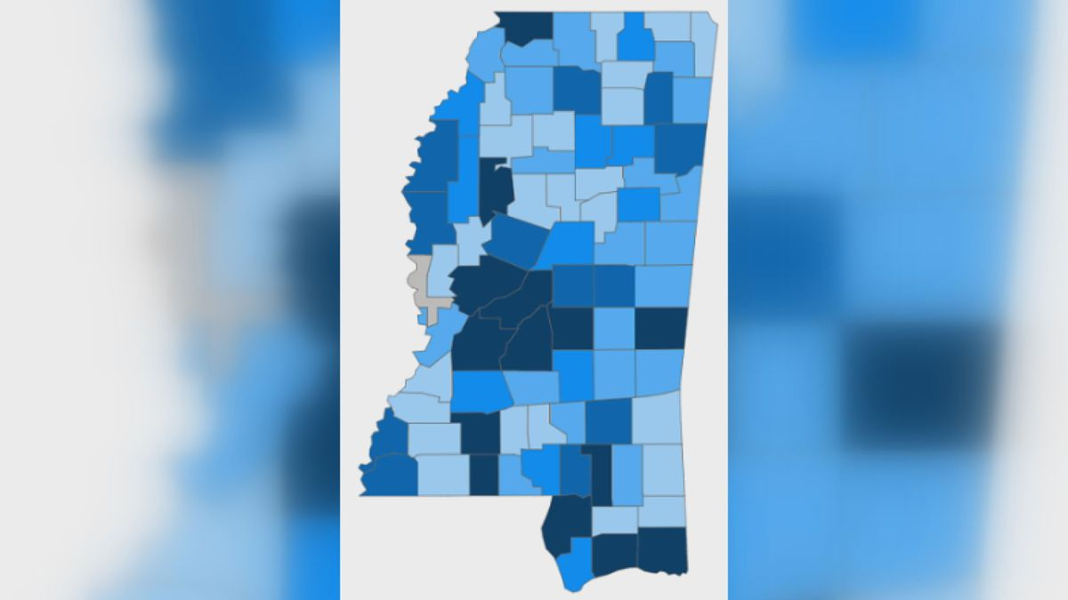 182 new COVID-19 cases, 8 new deaths reported Sunday in Mississippi