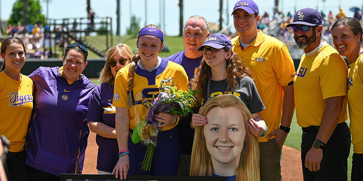 LSU softball player named to SEC Community Service Team