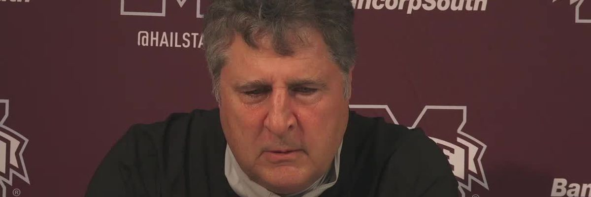 Miss. St. head coach Mike Leach talks about win over LSU
