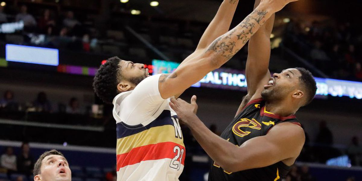 Anthony Davis drops in 38 points to extend Pels win streak to three games