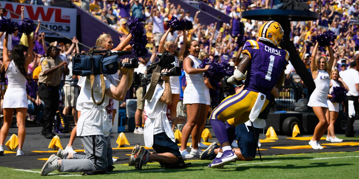 """""""This is what you come to LSU for;"""" Coach O fired up for Tigers-Gators Saturday night"""