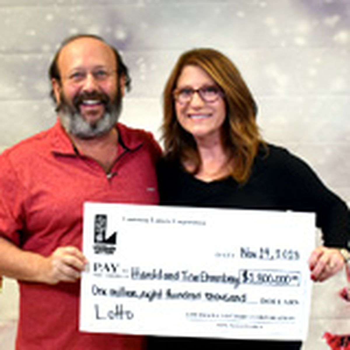 THEY CLEANED UP: Mandeville couple finds $1.8 million Lotto ticket