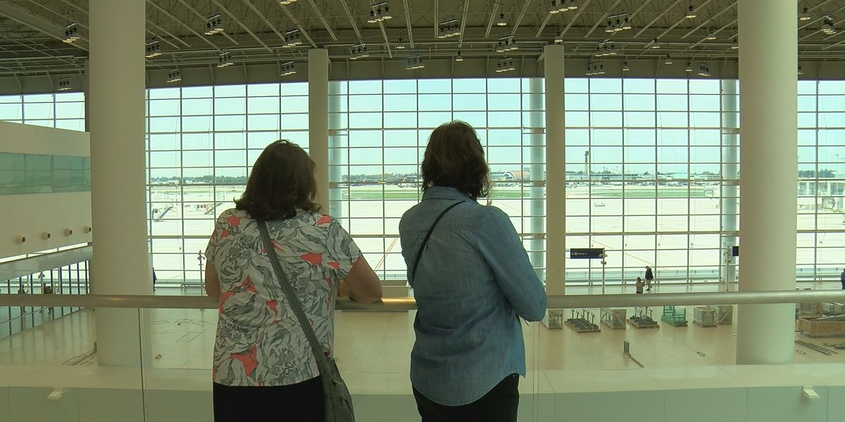 Thousands tour new airport terminal weeks ahead of opening day