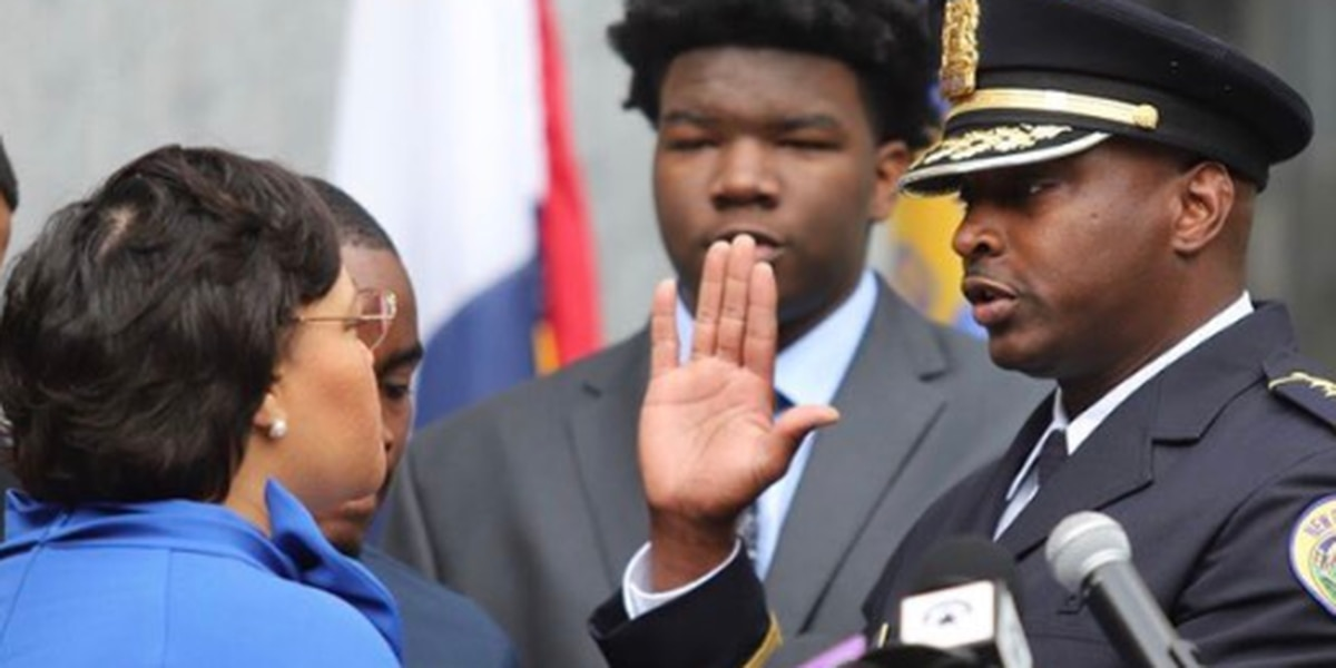 New NOPD police chief sworn in at Gallier Hall