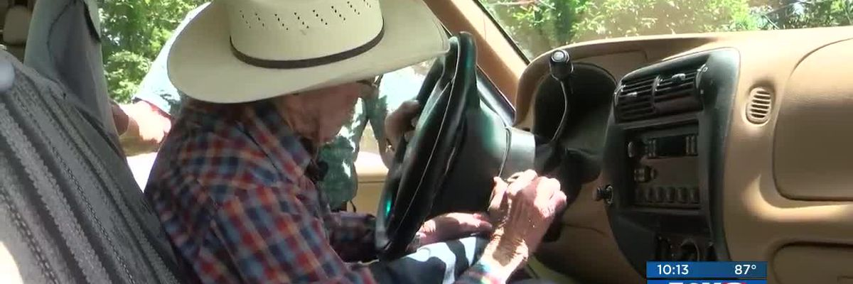 Easy Rider: 109-year-old Covington man still on the go