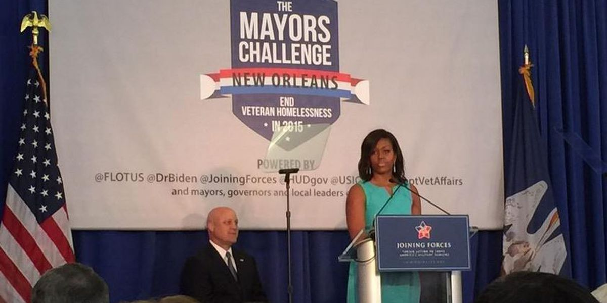 Michelle Obama set to visit New Orleans