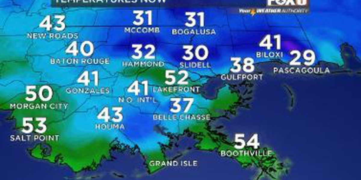 Your Weather Authority: Sunny Tuesday, warmer Thanksgiving ahead