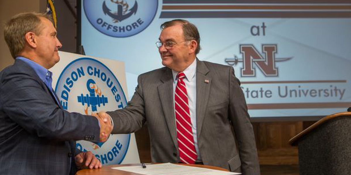 Nicholls State University forms partnership with offshore giant