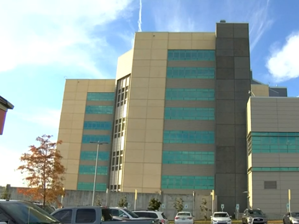 Apparent lockdown in effect at Orleans Justice Center
