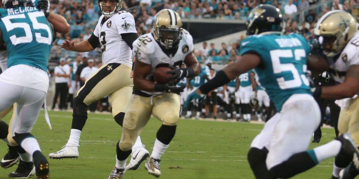 Saints win their preseason opener 24-20 over the Jaguars