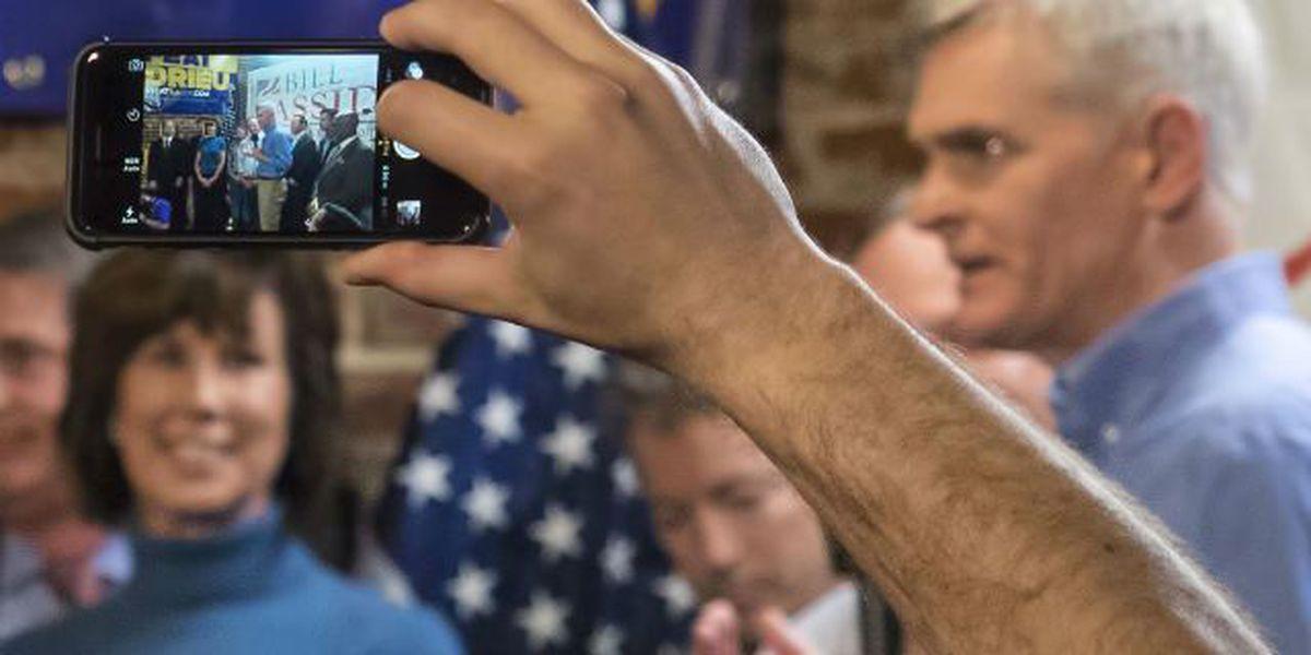 Big name, new name stump for GOP Senate hopeful Bill Cassidy