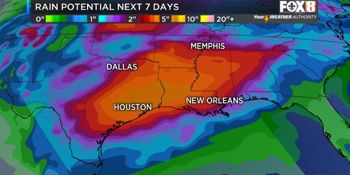 Storms increase by the weekend