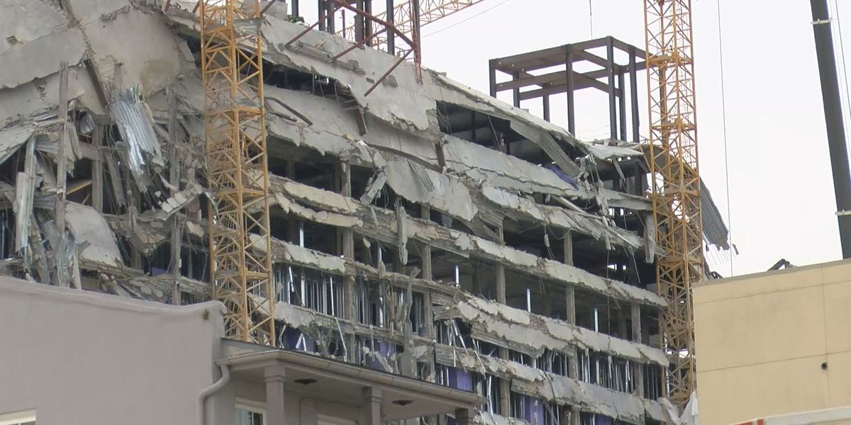 Plantiffs in lawsuit say they were hurt during collapse