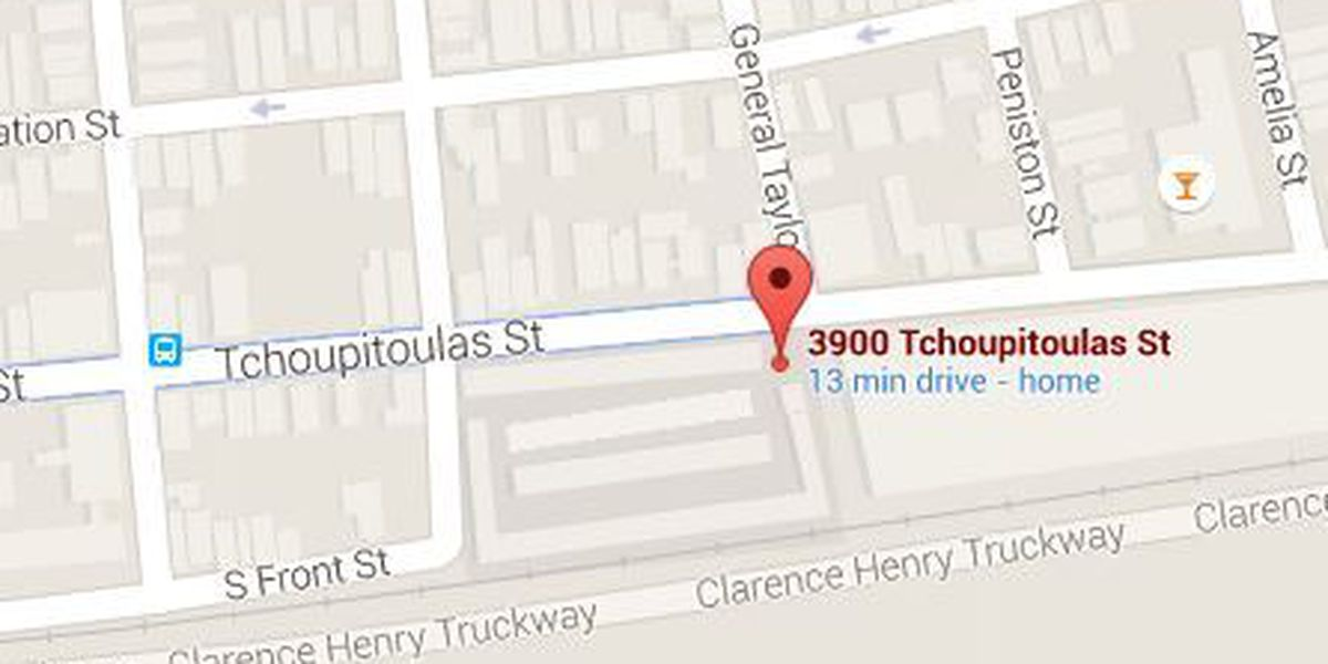 Two men shot on Tchoupitoulas Street Wednesday night