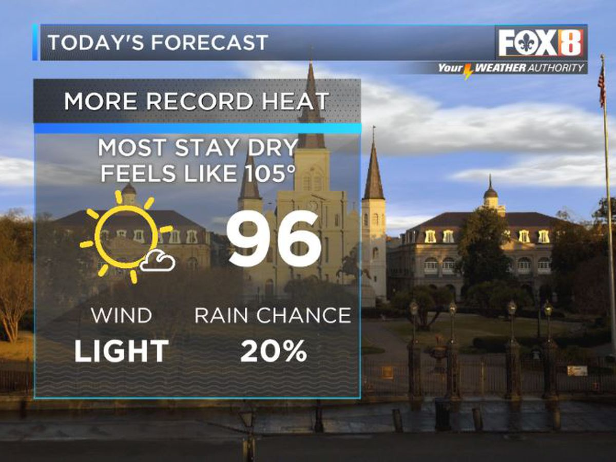 Bruce: Record Heat Continues