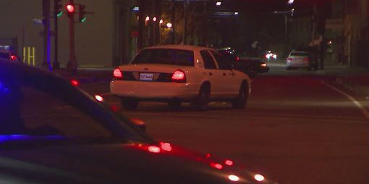 Man dead in Warehouse District double shooting