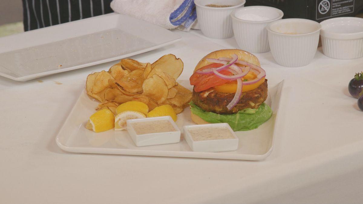 The Ultimate Crab Cake Burger