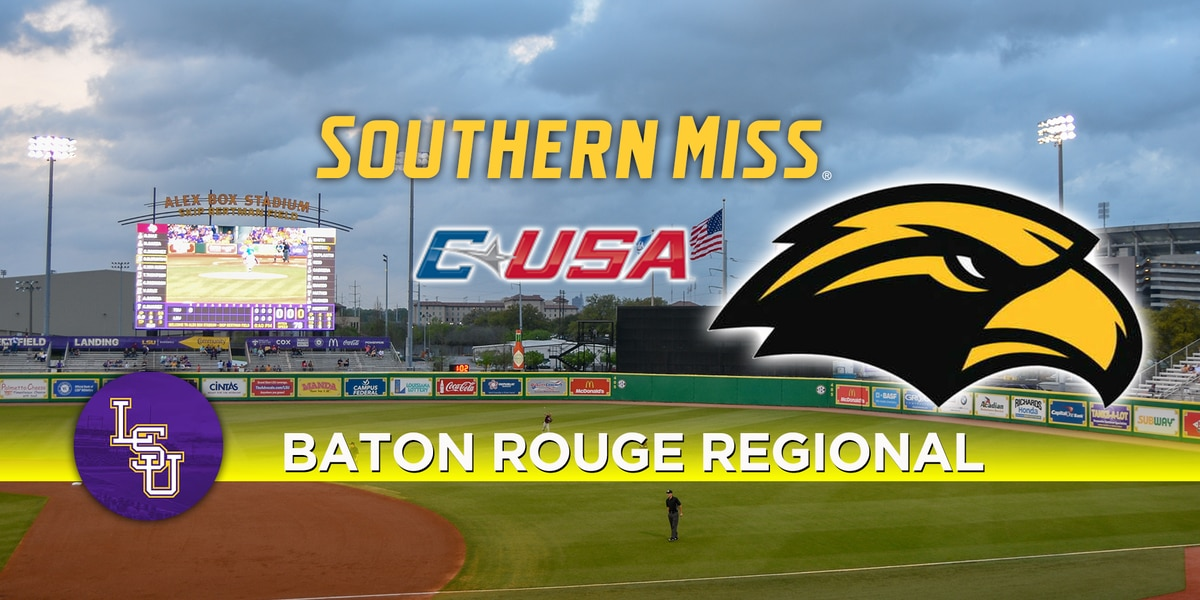 BR Regional: Southern Miss Golden Eagles