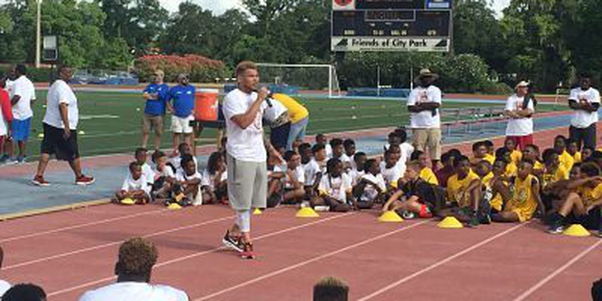 Tyrann Mathieu hosts event to give back to New Orleans' youth
