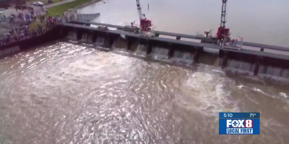 Army Corps to begin closing spillway bays