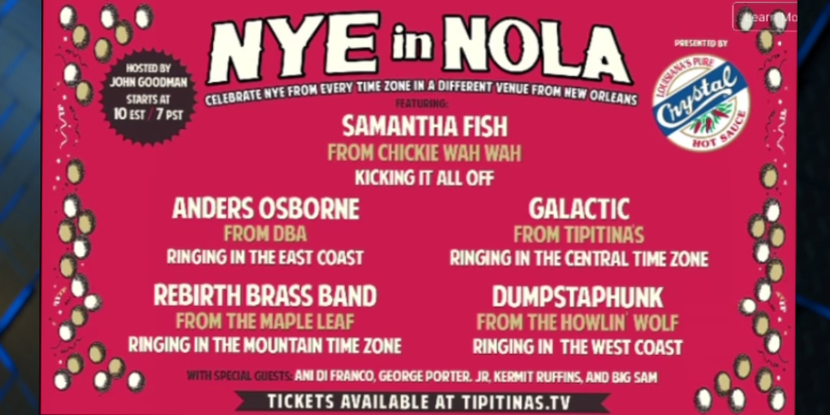 New Orleans music venues come together for NYE virtual concert
