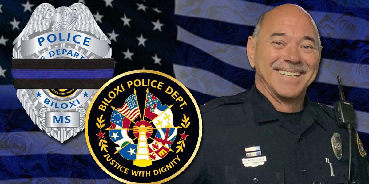 WATCH: Biloxi says goodbye to Officer Robert McKeithen