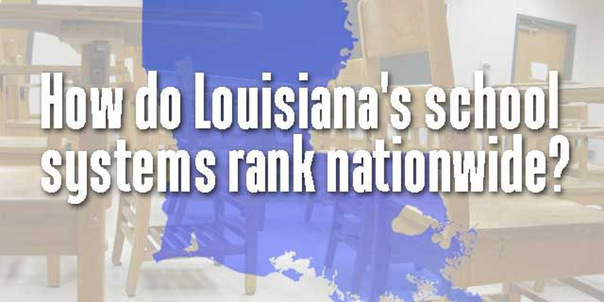 Study: Louisiana school systems among the worst in the nation