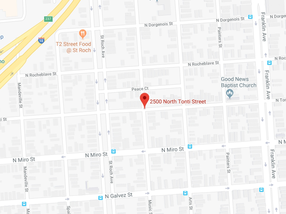 Man shot early Monday in St. Roch area