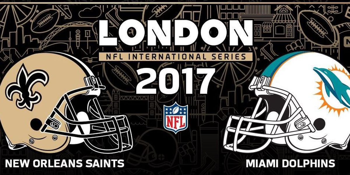 New Orleans Saints London possible game dates picked