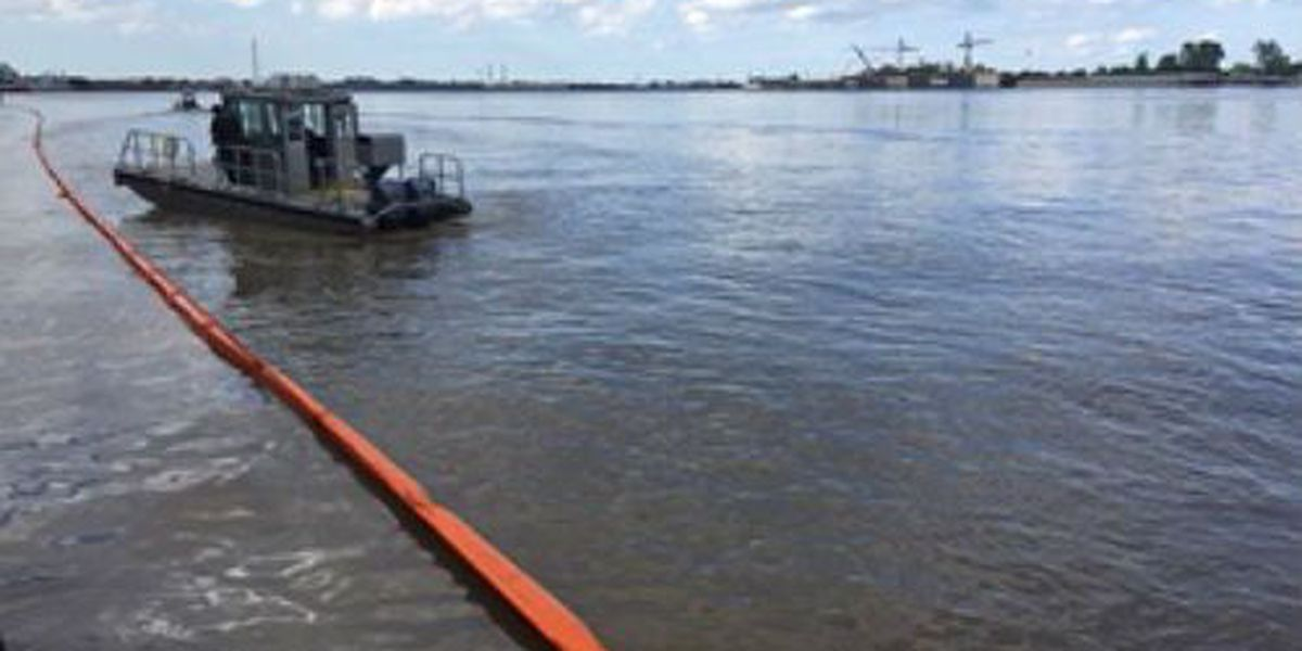 Coast Guard reopens section of Mississippi River affected by fuel spill