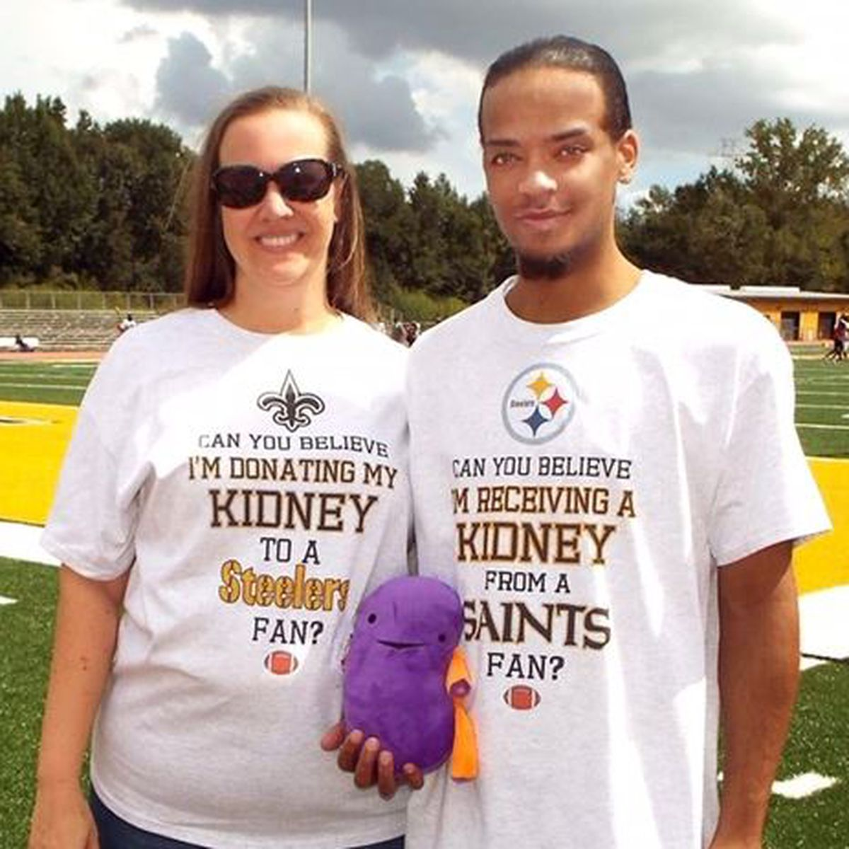 Gr8 Neighbor: Woman donates kidney to man in need