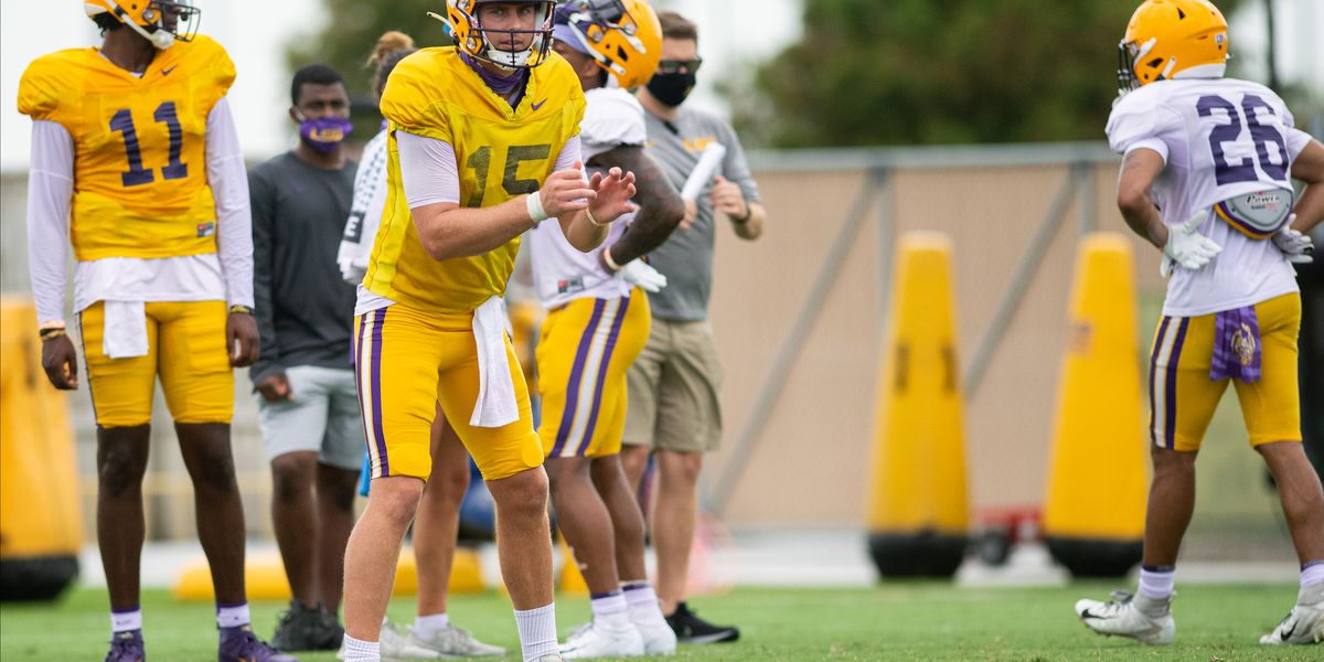 LSU announces kickoff times for five games this season
