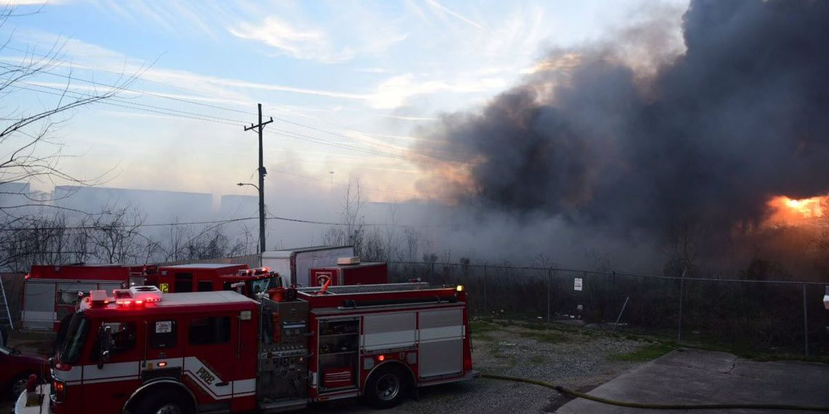 Report: NOFD working tire fire in New Orleans East