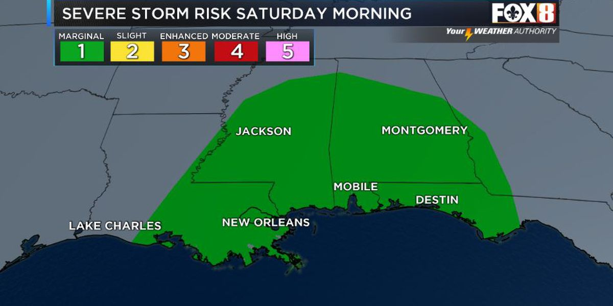 David: Strong storms possible Saturday