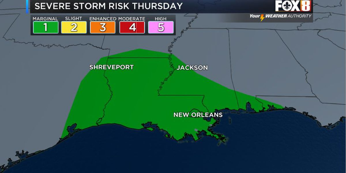 David: Strong storms possible Thursday