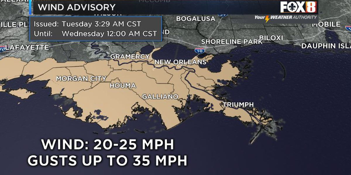 Shelby: Windy & Cold Tuesday