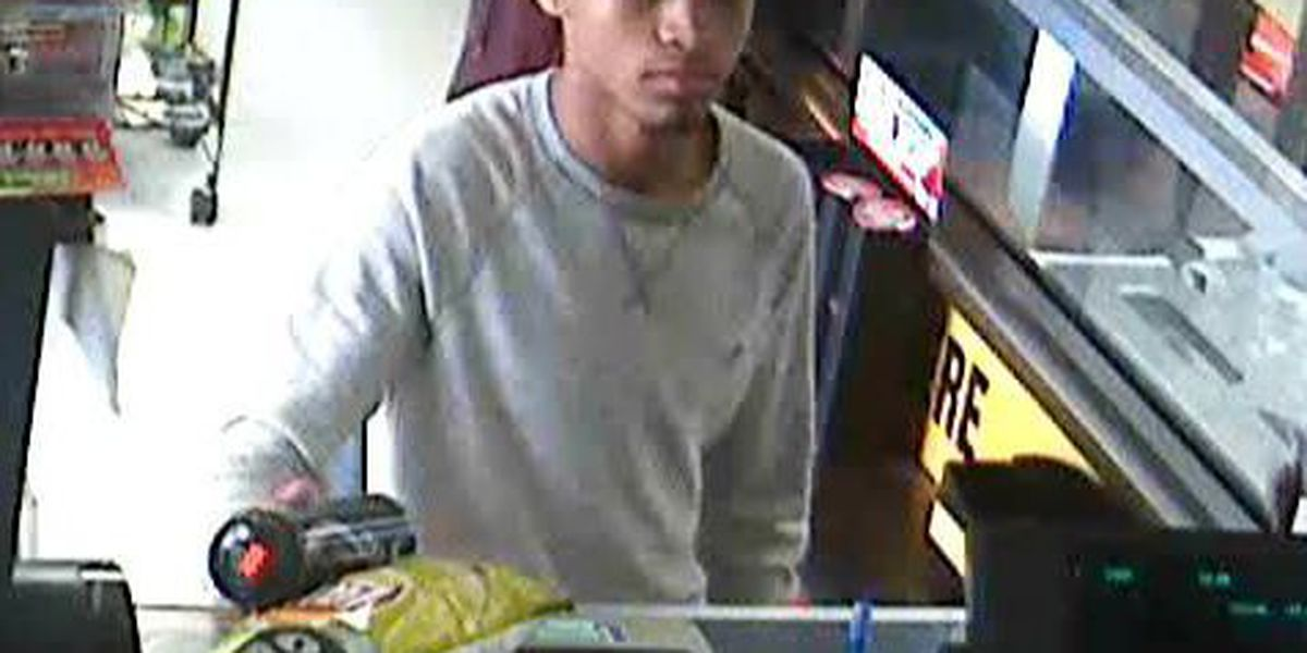 Lockport police are searching for a man who passed a counterfeit bill