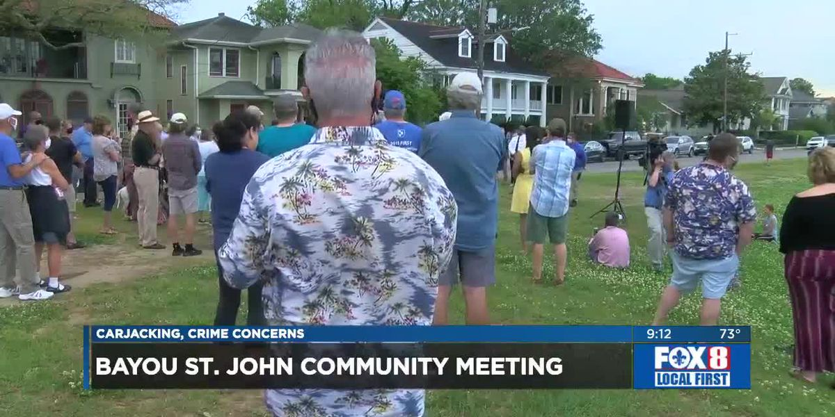 Bayou St. John residents hold community meeting over crime concerns