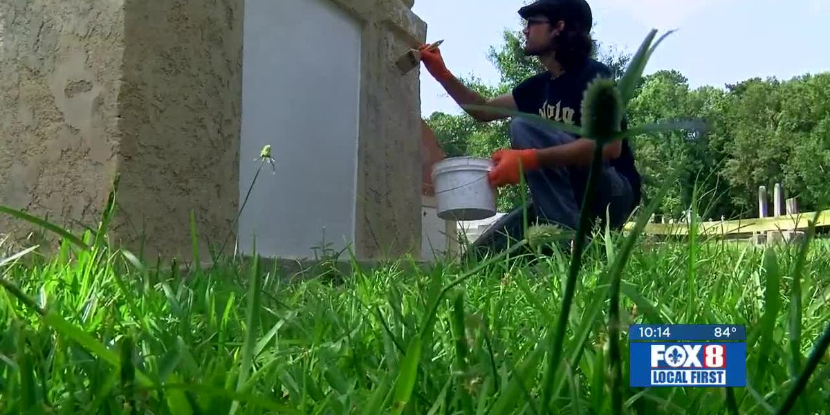 FOX 8 Gr8 Neighbor works to make sure history stays alive at cemeteries